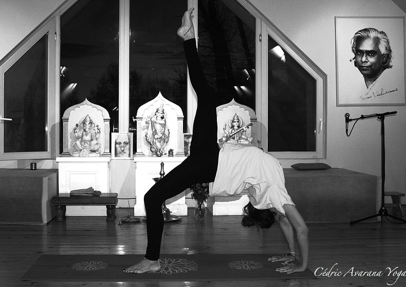 dhanurasana avarana yoga cours personnalisés yoga individuels groupe particuliers professionnels à domicile, chez moi, sur votre lieu de travail